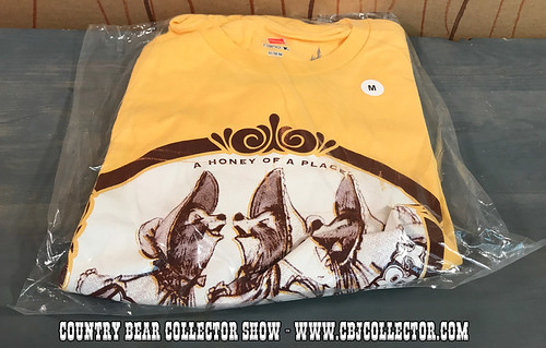 Disneyland Bear Country 45th Anniversary Bear Country Limited Edition Shirt - Country Bear Collector Show #101