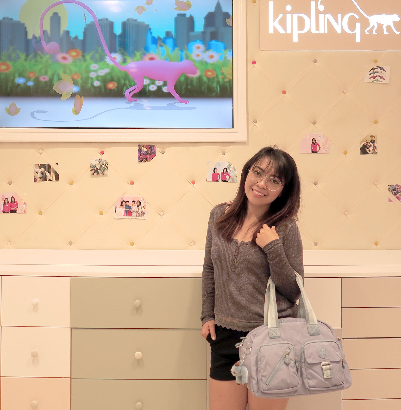 6 Kipling Philippines 30 years - Uptown Mall - Dream Garden Collection - Gen-zel.com(c)