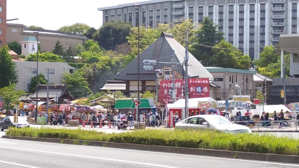 覚林寺遠景