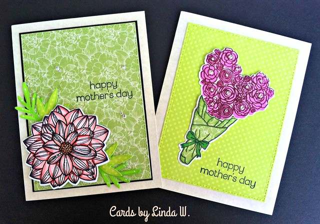Mom and Tia cards