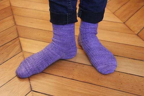 Syncopation socks