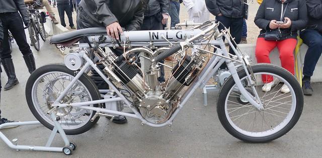 N l g norton london garage motocykl torpedo v4 for Garage honda montlhery