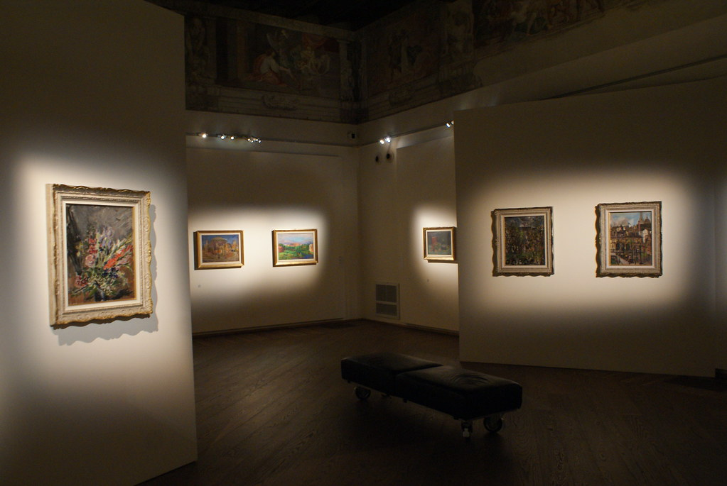 Le choix des oeuvres et une mise en avant physique et contextuelle assez exceptionnelle au Palazzo Fava de Bologne.