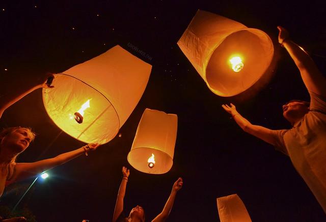 chiang mai itinerary thailand yi peng festival