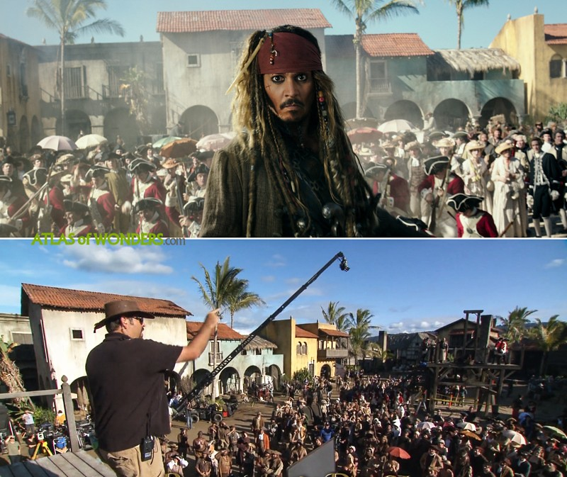 Where was Pirates of the Caribbean filmed
