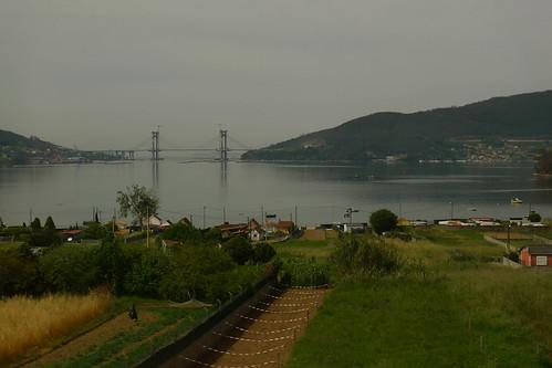Looking to  Vigo, Portugal