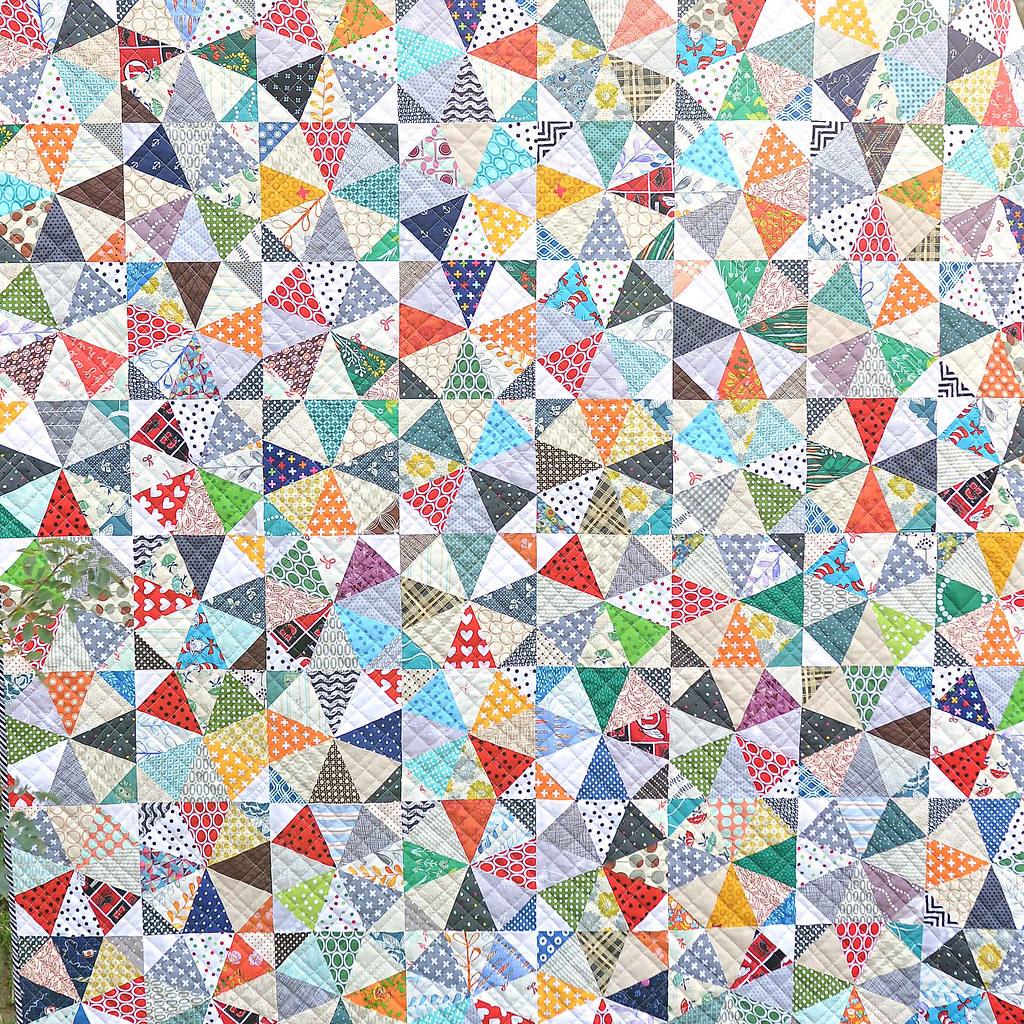 Kaleidoscope Quilt Tutorial