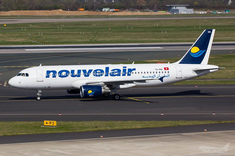 Nouvelair - A320 - TS-INO (1)