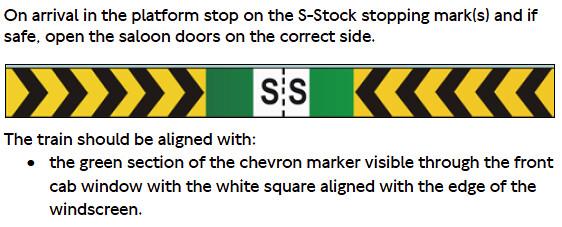 S Stock chevron