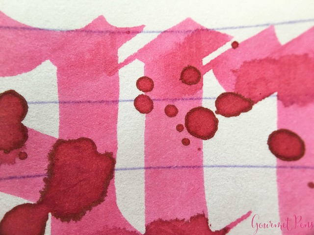 Ink Shot Review Diamine Flowers Carnation @AppelboomLaren 7