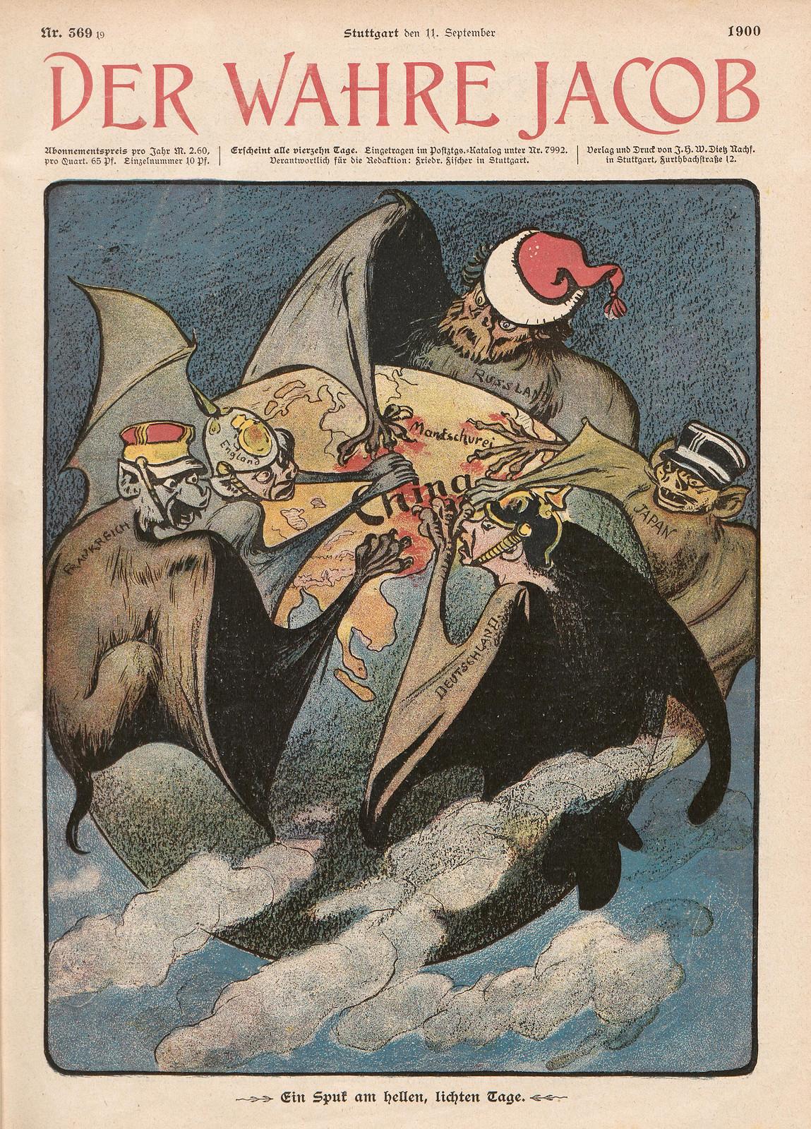 Unsigned - Ein Spuk am hellen, lichten Tage, 1900