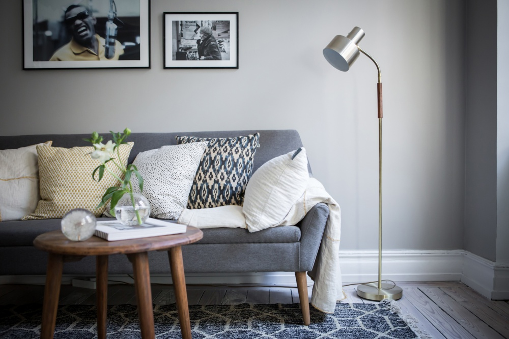 Simple But Chic Scandinavian Home
