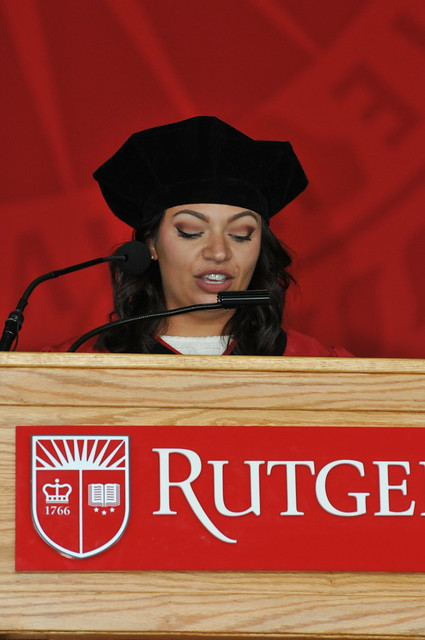 Rutgers Law School Commencement  2017