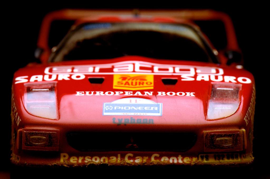 Master ferrari f40 pajero paris darkar 1989 mini racing for Garage mini paris