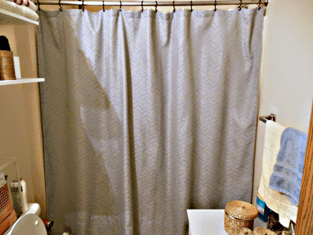How to Clean a Plastic Shower Curtain - Tastefully Eclectic