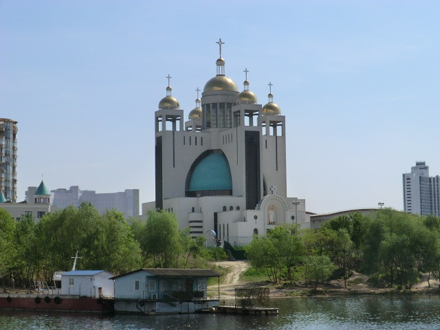 Kyiv City boat trip
