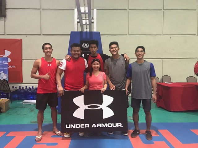 From right Emmanuelle Bautista, Coach Joever Samonte, Virlou Orquez, Tin Majadillas, Alen Peligrino and John Bryl Cuyos.