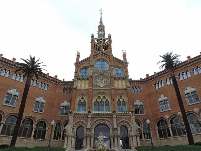 Hospital de Santa Creu i de Sant Pau, Barcelona, Spain