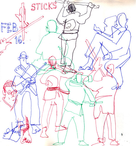 Sketchbook #103: My Life Drawing Class