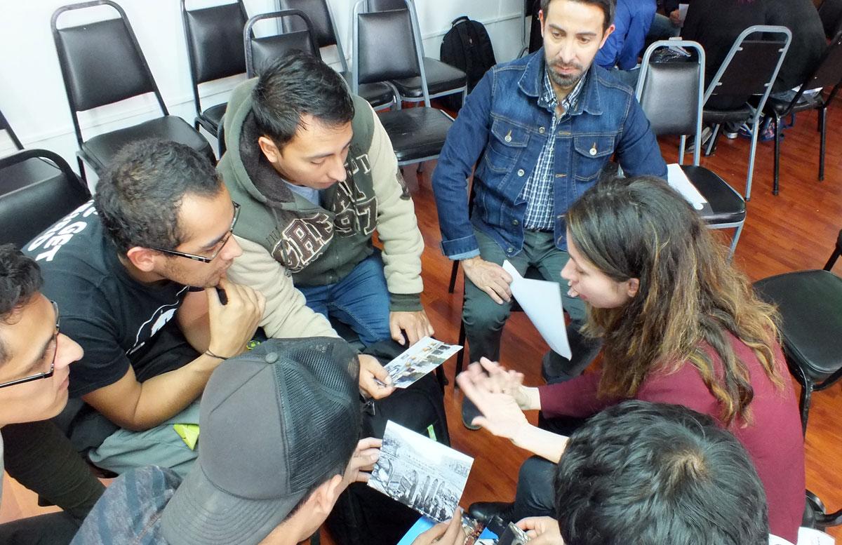 patrimonio_creatividad_valores_workshop_taller_reharq_universidad_cuenca_ecuador_hablan los alumnos_tutorías