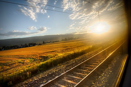 On the Train from Oslo to Finse | by spinfly