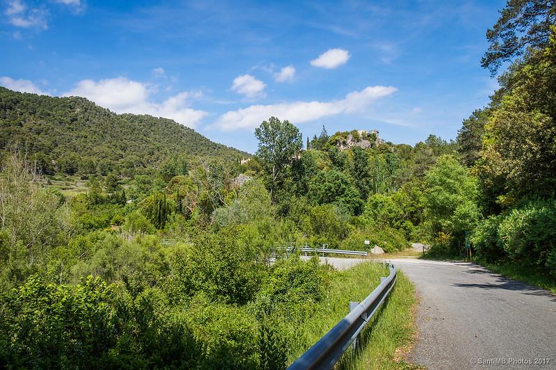 Llegando a Farena por el Camí de la Cadeneta