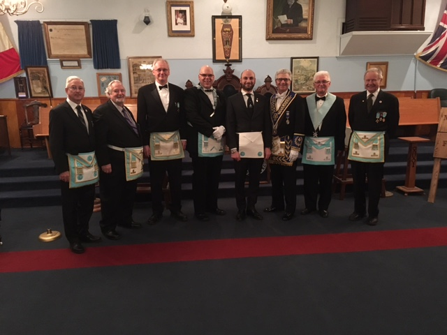 2017 04 11 Fraternal Visit to Beach Lodge No. 639