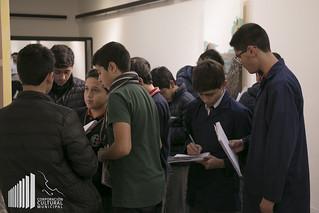 Visita Colegio Santiago Oñederra