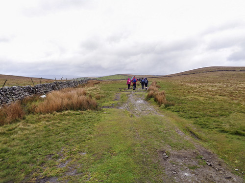 Heading to the Ribblehead Viaduct