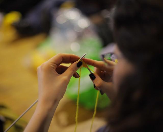 Tricot, crochet et tissage