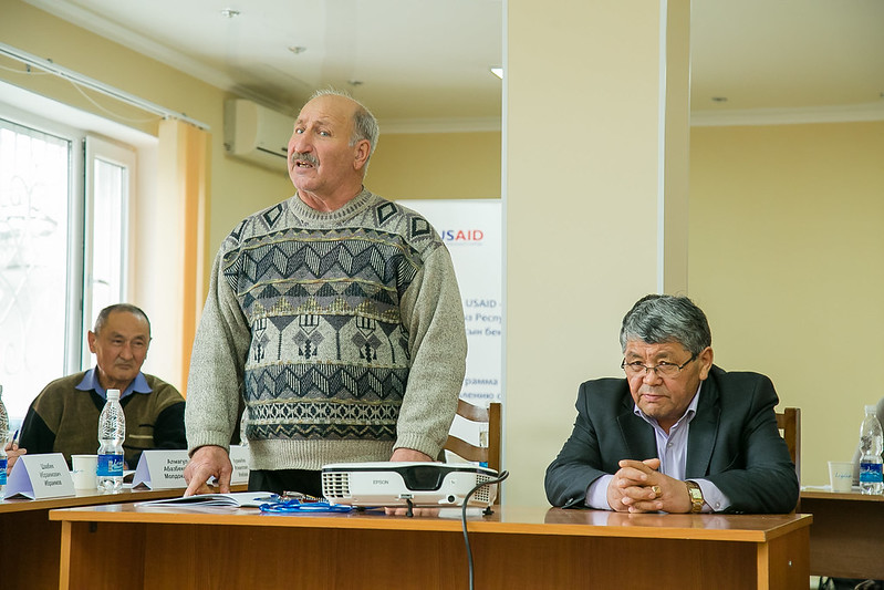 IDLO building the capacity of Traditional Elder's Courts in Kyrgyzstan