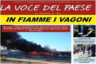 Noicattaro. Prima pagina n.18-2017 front