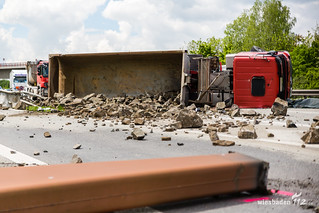 Tödlicher Lkw-Unfall A63 Kreuz Alzey 12.05.17
