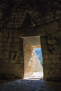 Treasury of Atreus Entrance from Inside | by Patrick J. Lynch
