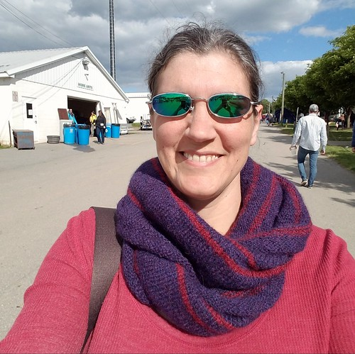 Partridgefield Cowl Debut at Maryland Sheep & Wool Festival 2017