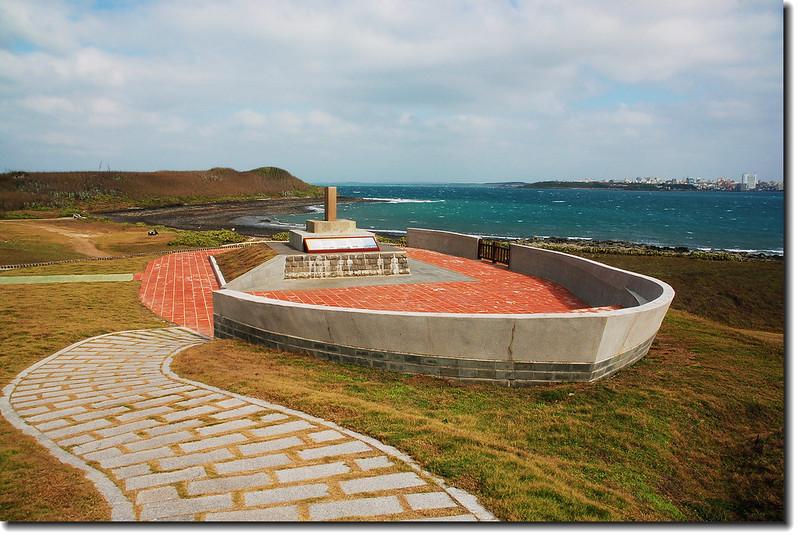 蛇頭山日軍松島戰艦沈船紀念碑