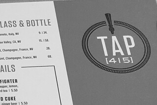 Tap 415 - Sign