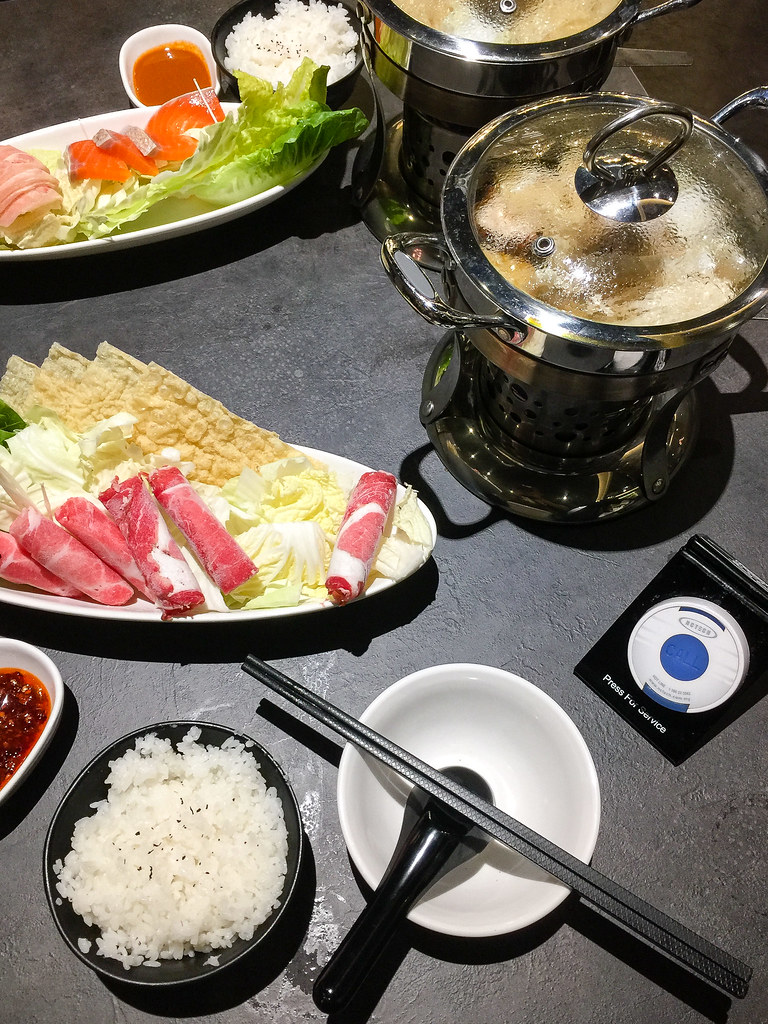 Our meal at Arashi Shabu-Shabu MyTown, Cheras.