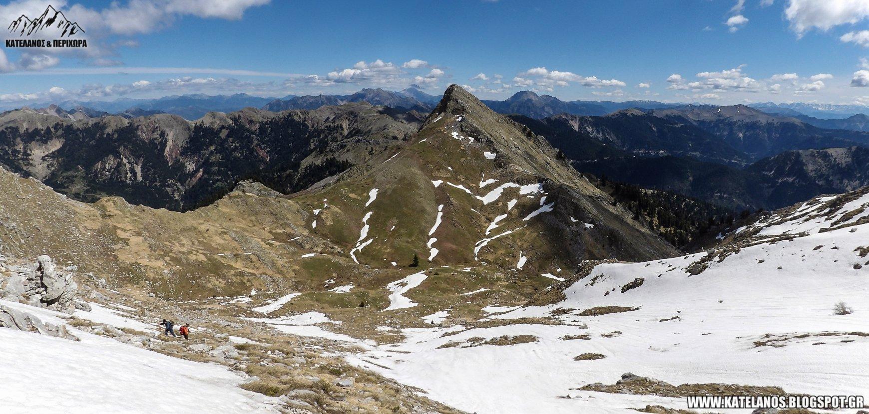 βουνο κατελανος διαδρομες