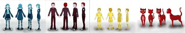 Character Designs - Final