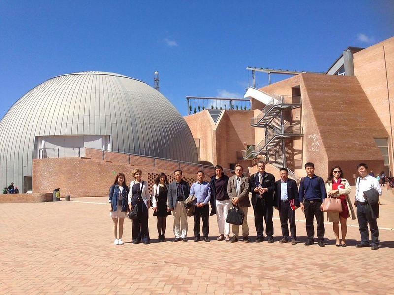 Una delegazione del Ministero dell'Istruzione cinese visita Città della Scienza