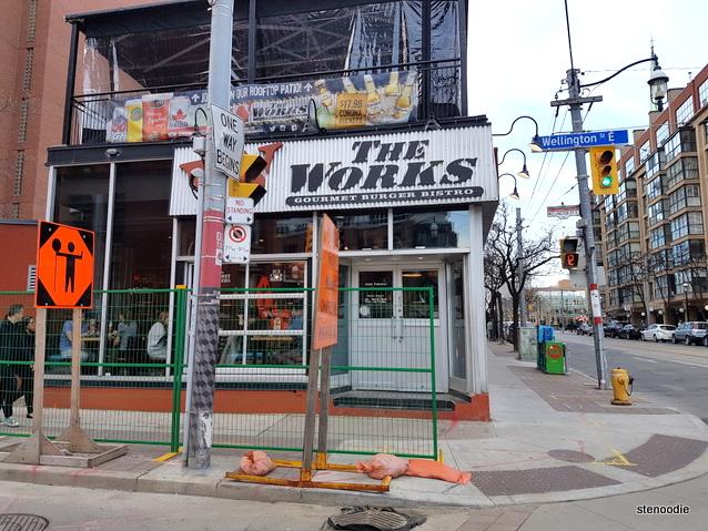 The WORKS Gourmet Burger Bistro St. Lawrence Market