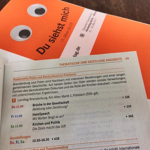 Podienreihe Polen und Deutschland beim 36. Evangelischen Kirchentag