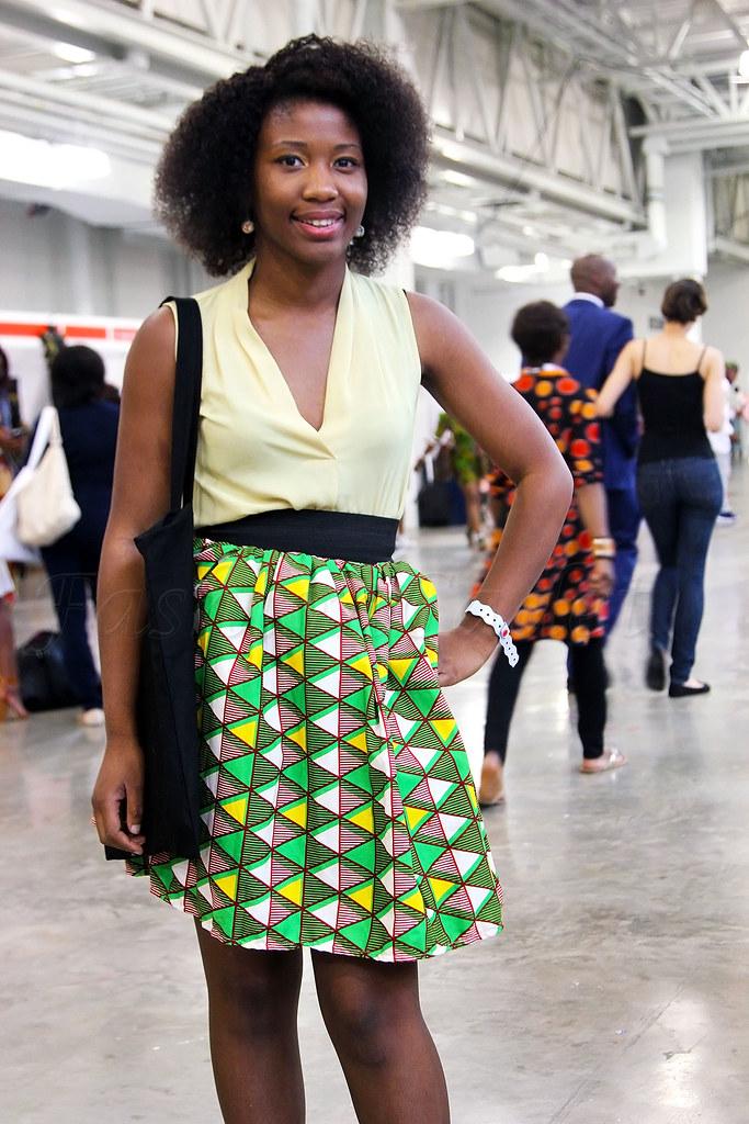 high-waist-African-print-skirt,kitenge A-line mini skirt, chitenge A-line mini skirt, African print A-line mini skirt, plunging neckline top, pastel yellow top, pastel yellow top, kitenge style, ankara style, African print style