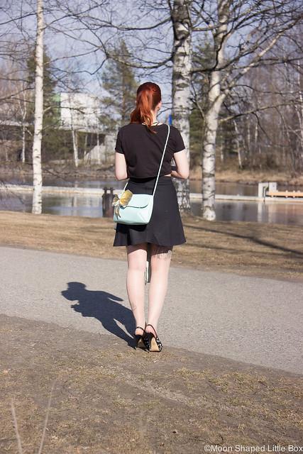 OOTD Tyyli Esprit Urban Classics Tyyliblogi Muoti Guess Heels highheels leathershoes fashionblog Finland Pohjois- Karjala style blog Joensuu