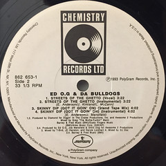 ED O.G & DA BULLDOGS:SKINNY DIP(GOT IT GOIN' ON)(LABEL SIDE-B)
