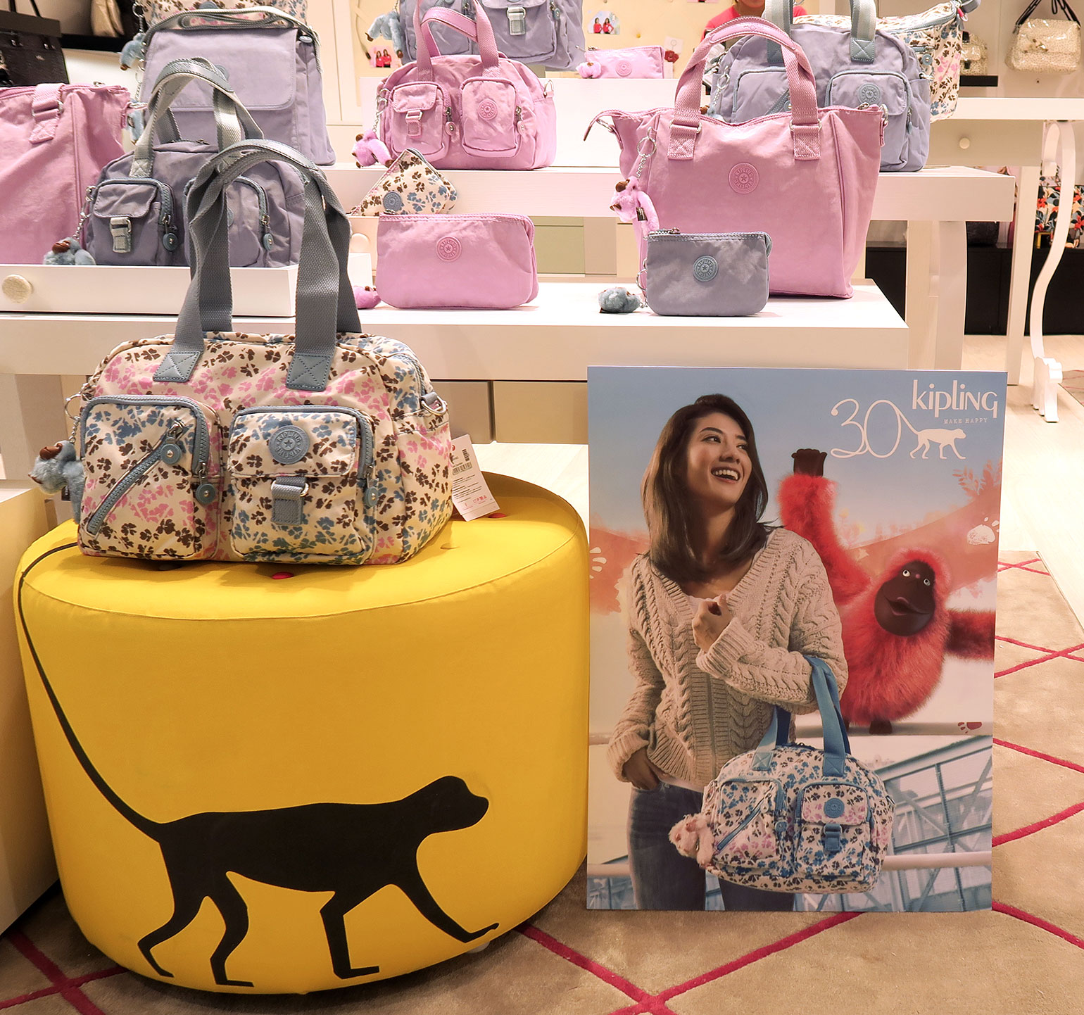 4 Kipling Philippines 30 years - Uptown Mall - Dream Garden Collection - Gen-zel.com(c)
