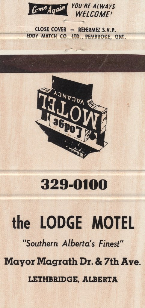 Lodge Motel - Lethbridge, Alberta