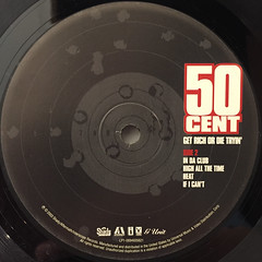50 CENT:GET RICH OR DIE TRYIN'(LABEL SIDE-B)