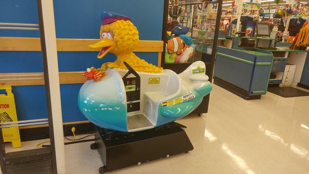 Toys R Us Ride : Toys r us anderson sc big bird kiddie ride